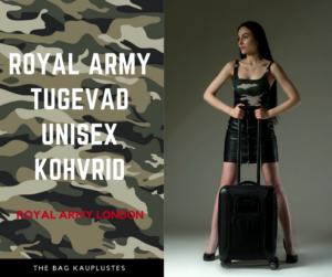 Royal Army London kohver